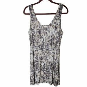 TART snake print sleeveless dress size medium